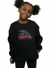 Marvel Bambine e ragazze Deadpool Sword Logo Felpa