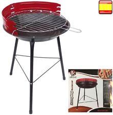 Barbacoa de carbón portátil desmontable para BBQ con parrilla playa camping