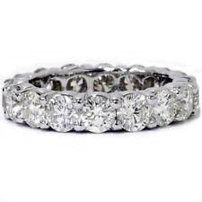 Platinum 5 Ct Diamond Eternity Ring Womens Wedding Anniversary Engagement Band