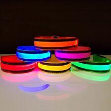 LED Armband Leuchtband Joggen Reflektorband Sicherheitsband Radfahren Klettband