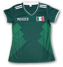 Mexico Flag Soccer Women's Jersey Exclusive Design Mundial de Futbol 2018