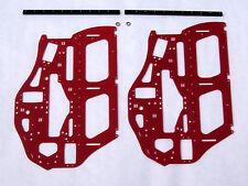 XTREME HELI ALIGN T-REX 700 E RED G-10 FRAME SET LIPO 3D FLYBAR FLYBARLESS