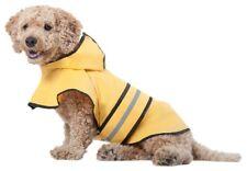 Dog Rain Coat Hooded Slicker Jacket Coat new Apparel
