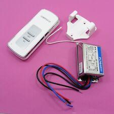 Digital 220V Remote Control Wireless Wall ON/OFF Switch LED Control