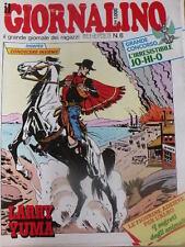 Giornalino 8 1985 Sherlock Holmes Larry YUMA I PUFFI Promessi Sposi Piffarerio