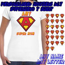 Personalised Superhero - Ladies T shirt - Mothers Day Gift
