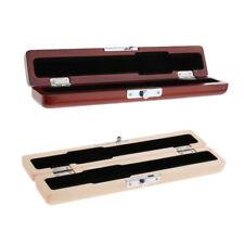 Boîte en Bois pour Bec de Flûte Kit Rangement et Protection