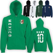 Mexiko MEXICO wM 2018 Sweat Jacke Trikot Name Nummer