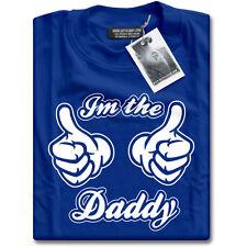 IM il papà Thumbs Up papà padre Neonato Regalo da Uomo Blu T-Shirt I'm NUOVO