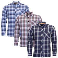 Abbigliamento Da Uomo Foderato Casual Scacchi | Camicia-MWS-061