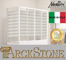 ARCKSTONE Sopra Vasca Ante Scorrevoli Esprit Bianco Casa Novellini Aurora 2AV4+F