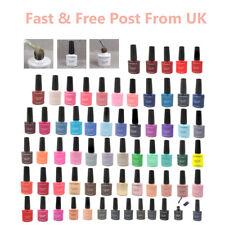 10ml Gel Nail Polish Salon Quality Soak off 80 Colours Professional UK SELLER