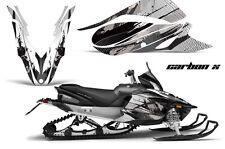 YAMAHA APEX GRAPHIC KIT AMR RACING SNOWMOBILE SLED WRAP DECAL 12-13 CARBON BLACK