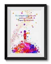 Uhomate The Little Prince Fox Le Petit Prince Art Print Nursery Wall Decor C045