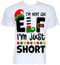 Funny Christmas T-shirts Mens Novelty Rude Secret Santa Elf Slogan Joke Gifts