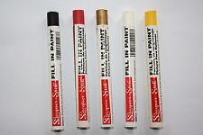 Farbfüllstift, Festfarbenstift zum Auslegen der Gravur versch. Farben Gravograph