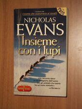 NICHOLAS EVANS-INSIEME CON I LUPI-RIZZOLI-SUPER POCKET N° 117-2000