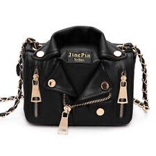 Womens Jacket Shape Satchel Handbags Shoulder Bag Tote Messenger Crossbody Purse