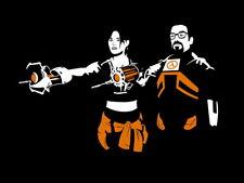 Gordon Freeman Chell Valve Portal Half Life Giant Wall Print POSTER