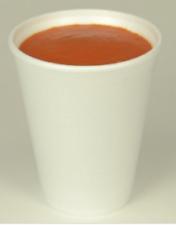 Dart Plain White Polystyrene Disposable Foam Cups 7oz, 10oz and 12oz (NO LIDS)