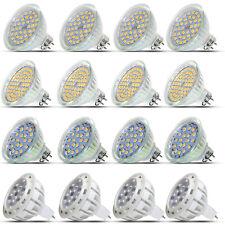 2W 3W 4W 5W 7W LED MR16 Strahler Leuchtlampe GU5.3 Spot Lampe Warmweiß AC/DC12V