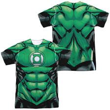 Authentic DC Comics Green Lantern Uniform Costume Allover Front Back T-shirt top