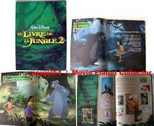 THE JUNGLE BOOK 2 - Disney - P.Collins FRENCH PRESSBOOK