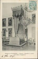 78 - cpa - VERSAILLES - Le Grand Trianon - Chambre de la Reine d'Angleterre