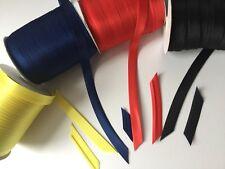 Satin Bias Binding Tape(15-16 mm ),Bright Colours! BUY 5 PACKS GET 1 PACK FREE !