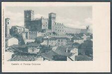 TORINO PAVONE CANAVESE 01 CASTELLO Cartolina primi '900 Ediz. GENTA