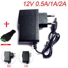 AC DC 5V 12V 9V 1A 2A 3A 0.5A Power Supply Adapter US EU Plug LED Strip light
