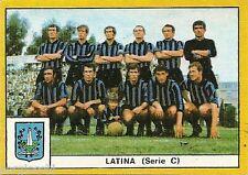 FIGURINE CALCIATORI EDIS 1969 / 70 * LATINA * SQUADRA -  NUOVA