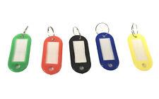 Schlüsselschilder zum Beschriften verschiedene Farben Schlüsselanhänger NEU