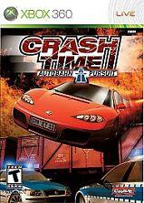 Crash Time: Autobahn Pursuit (Microsoft Xbox 360, 2008) DISC IS MINT