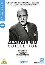 Alastair Sim - The Comic Icons Collection (DVD, 2007, 5-Disc Set, Box Set)