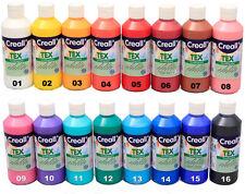 Stoffmalfarbe  -Farbe wählbar- 250ml Textilfarbe Textilmalfarbe 1L=19,96€
