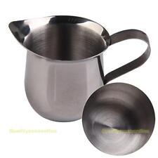 New Stainless Steel Coffee Shop Small Milk Cream Waist Shape Cup Jug
