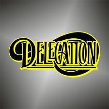 adesivo musica delegation funk soul music sticker aufkleber pegatina