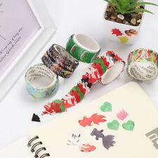 New listing Sakura Sticker Scrapbooking Masking Tape Sticky Paper Flower Petals Tape
