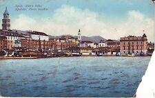 Croatia Italy Split Spolato - Stara Luka Sea Shore circa 1920 unused postcard