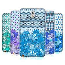 HEAD CASE DESIGNS FLORAL BLUE SOFT GEL CASE FOR SAMSUNG PHONES 2