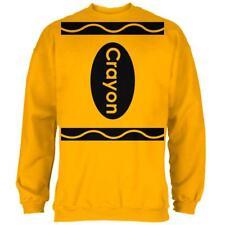 Halloween Crayon Costume Mens Sweatshirt