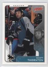 2001-02 Upper Deck Victory #297 Scott Thornton San Jose Sharks Hockey Card