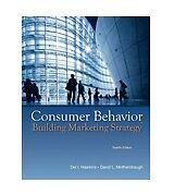 Consumer Behavior: Building Marketing Strategy 12th Int'l Edition