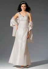 Laura Scott Wedding Brautkleid-Set (3-tlg.), puder Gr 36 38 40 42 44 UVP 406,99€