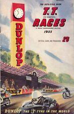 Vintage 1959 Isle of Man TT Motor Bike Racing Programme Poster Print A3//A4
