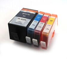 Hp920xl CIANO, MAGENTA, GIALLO e cartucce di inchiostro compatibile nero hp920