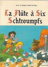 La Flute à six schtroumpfs. PEYO 1975. Dessin animé