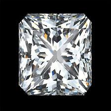Lovely G-H Full White VVS1 Radiant Excellent Cut Shape Genuine Real Moissanite