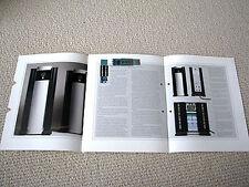 MAKE OFFER - Mark Levinson 33 power amplifier brochure